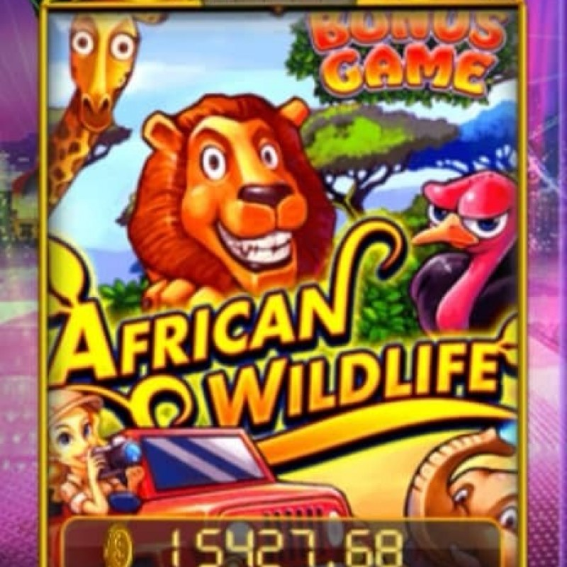 African Wildlife SA : Review of Famous Slot Game in Pussy888 apk @ Liveslot77