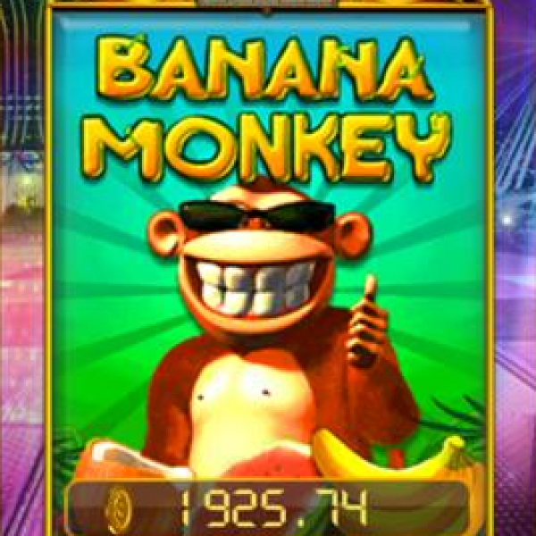 Banana Monkey SA : Jackpot Game in Pussy888 Trending Online Casino with Liveslot77