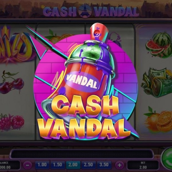 Cash Vandal Slot : Try & Spins in Top Charts Game Malaysia Mega888 @ Liveslot77