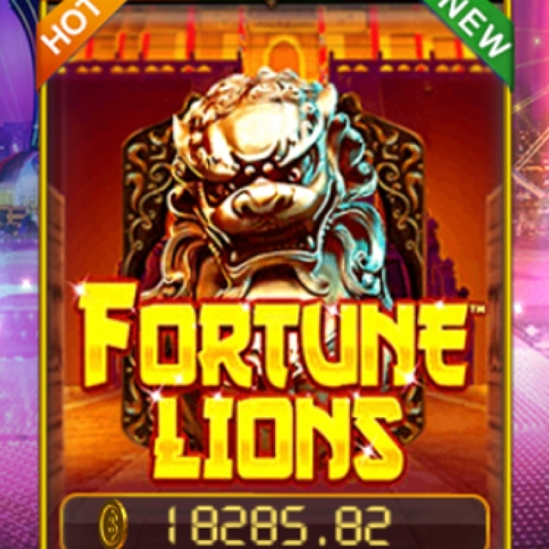 Fortune Lions Slot : Deposit & Spins To Win in Pussy888 Trending Casino @ Liveslot77