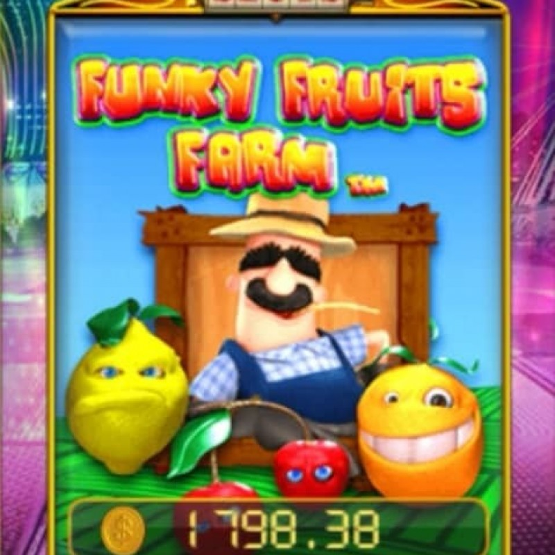 Funky Fruits Farm SA : Free Spins & Mega Wins Jackpot Game in Pussy888 @ Liveslot77