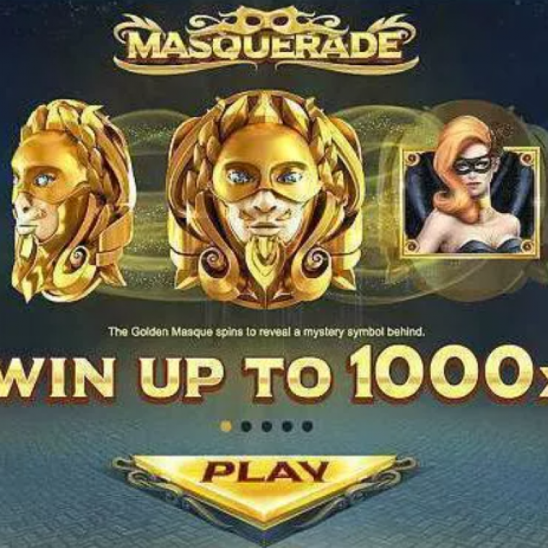 Masquerade Slot : Mystery Slot Game To Free Play in Mega888 apk Online @ Liveslot77