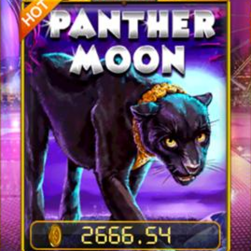 Panther Moon SA : Free Play & Big Win in Pussy888 Live Casino @ Liveslot77